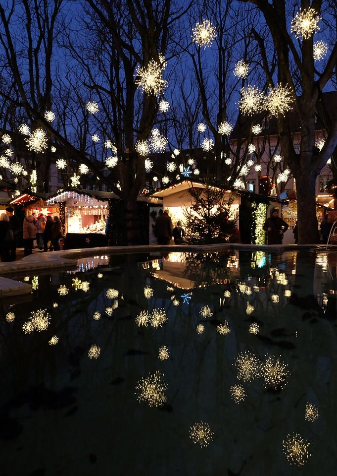 Christmas market at Münsterplatz