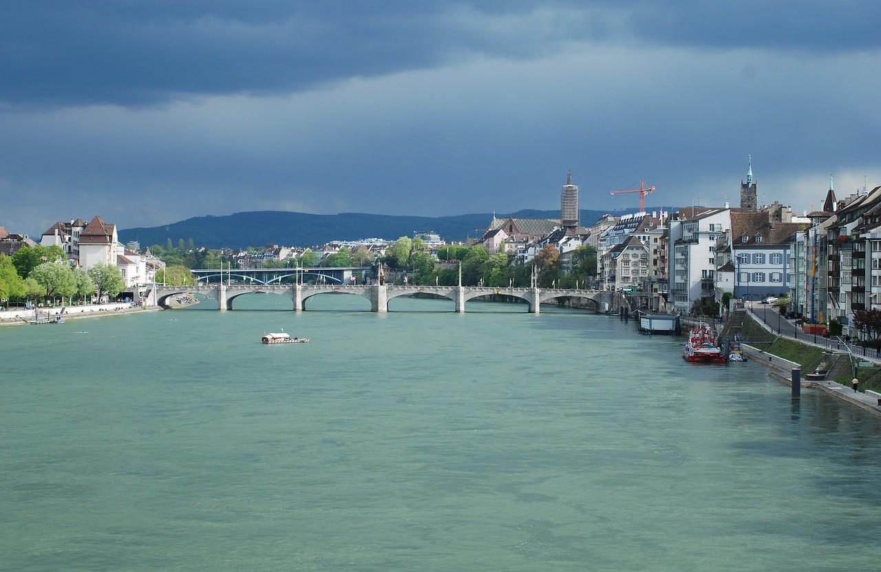 View from Johanniter bridge