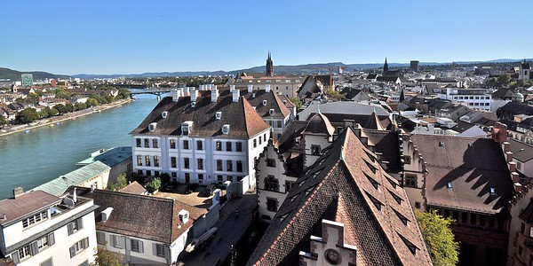 View from St. Martin church tower