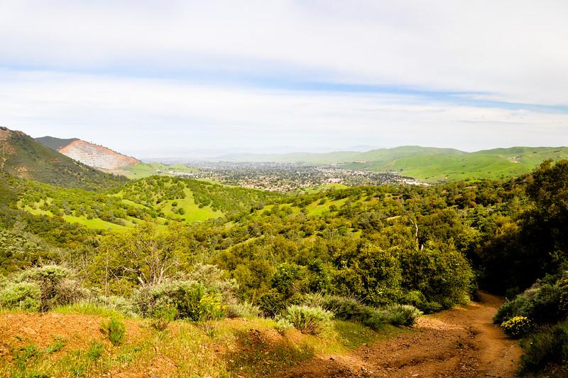 Mt. Diablo Above Clayton, CA
