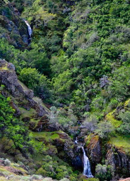 Waterfalls on Mt. Diablo