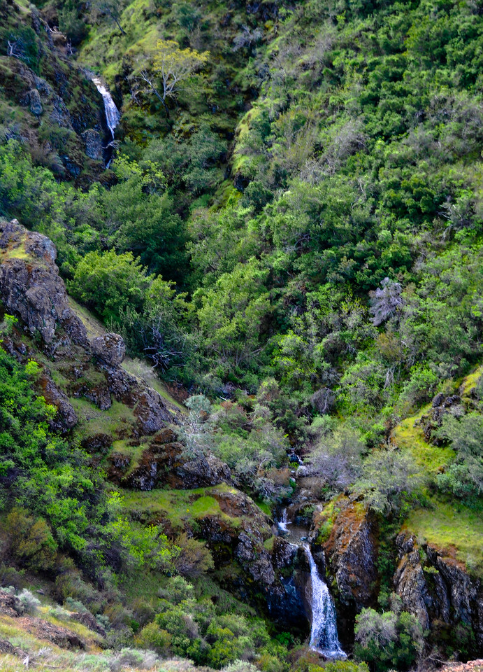 Waterfalls on Mt. Diablo