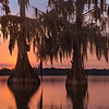 Sunset on the Bayou