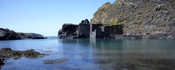 Blue Lagoon, Abereiddi.