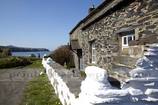 Cottages at Abereiddi.