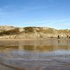 Winter walk at Barafundle Beach.