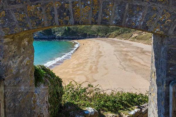 Barafundle, Pembrokeshire.