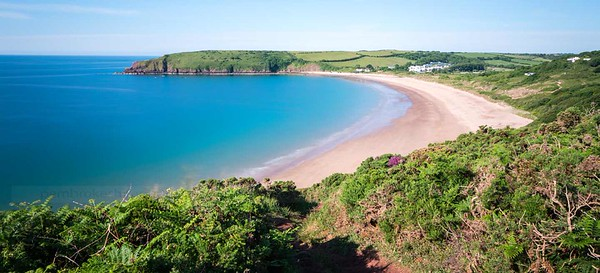 Freshwater East, Pembrokeshire.