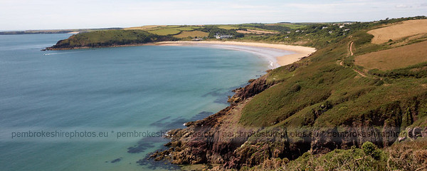 Freshwater East, from the coast path.
