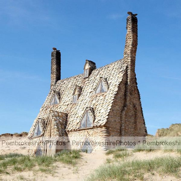 Shell House, Freshwater West.