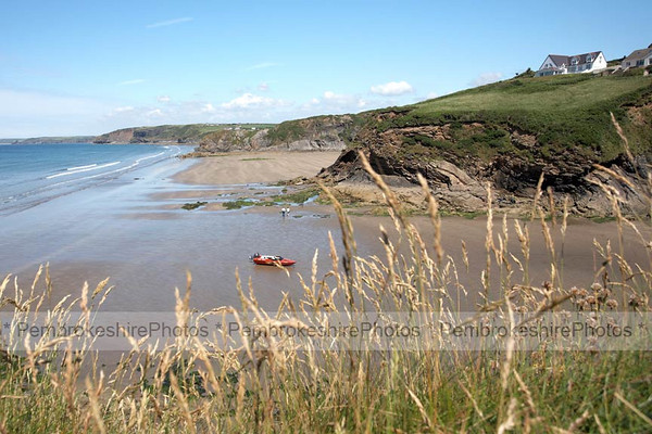 Little Haven, looking towards Broadhaven North.