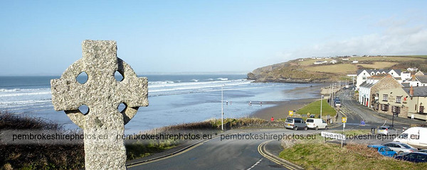 Broadhaven North in winter.