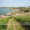 Approaching Little Haven on the Coast Path.