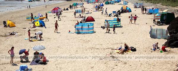 Coppet Hall beach, Saundersfoot.
