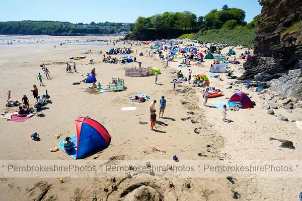 Coppet Hall beach, Saundersfoot