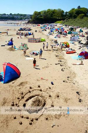 Coppet Hall beach, Saundersfoot