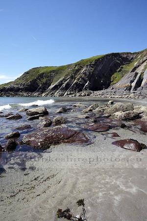 Caerbwdy Beach.
