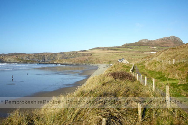 Coast Path at Whitesands, St Davids