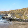 Cliffs at St Davids Head.