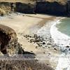 Porthmelgan Beach, St Davids Head.