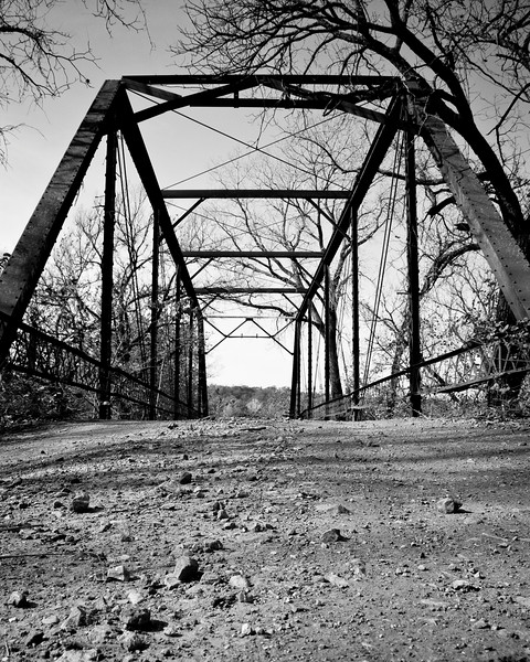 Bear Creek Bridge, Lincoln  County Oklahoma