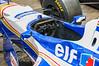 Cockpit of Williams F1