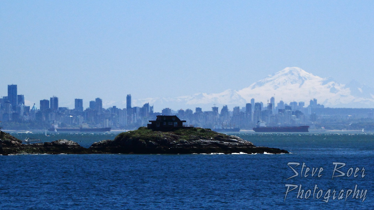 Vancouver and Mount Baker