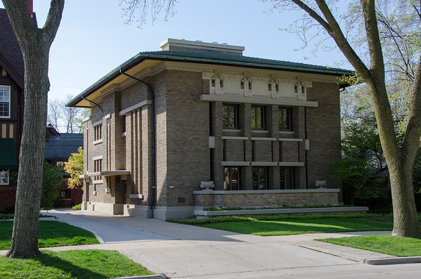 Frederick C Bogk House. Milwaukee, Wisconsin