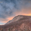 Sunrise over Cannon Mountain - Franconia Notch, White Mountains, New Hampshire