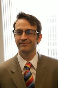 Robert Ghrist, a blue-eyed islander
