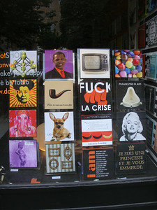Brussels random shop