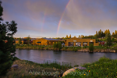 Douible Rainbow At Sunet, Bend, Oregon - 19