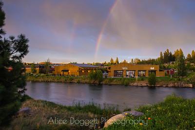 Douible Rainbow At Sunet, Bend, Oregon - 19
