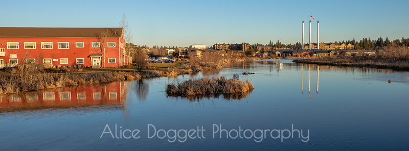 Sunny Afternoon In Bend's Old Mill District - 12