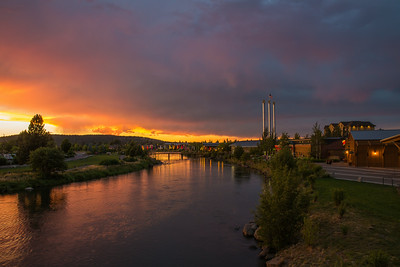 Thunderstorm Sunset - Bend, Oregon - 23