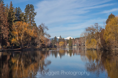 Winter Colors, Mirror Pond, Bend, Oregon - 7