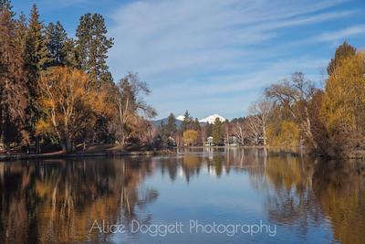 Winter Colors, Mirror Pond, Bend, Oregon - 7