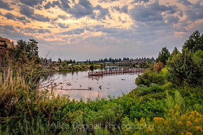 Early Morning In The Old Mill District, Bend, Oregon - 20