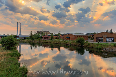 Morning's Glory In The Old Mill, Bend, Oregon - 14