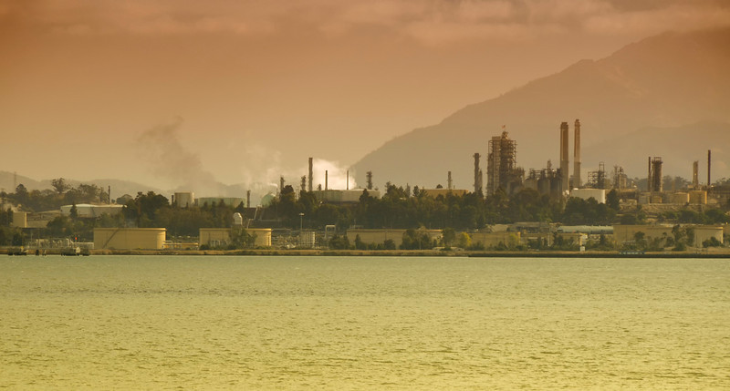 Martinez Oil Refineries