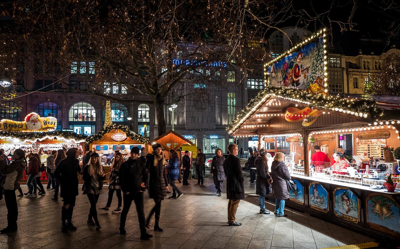 Christmas market near Kaiser Wilhelm Church, Berlin