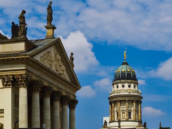 Neue Kirche and Konzerthaus in Berlin
