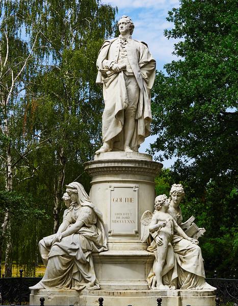 Goethe monument, Tiergarten, Berlin