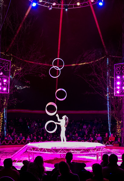 Christmas circus in Berlin