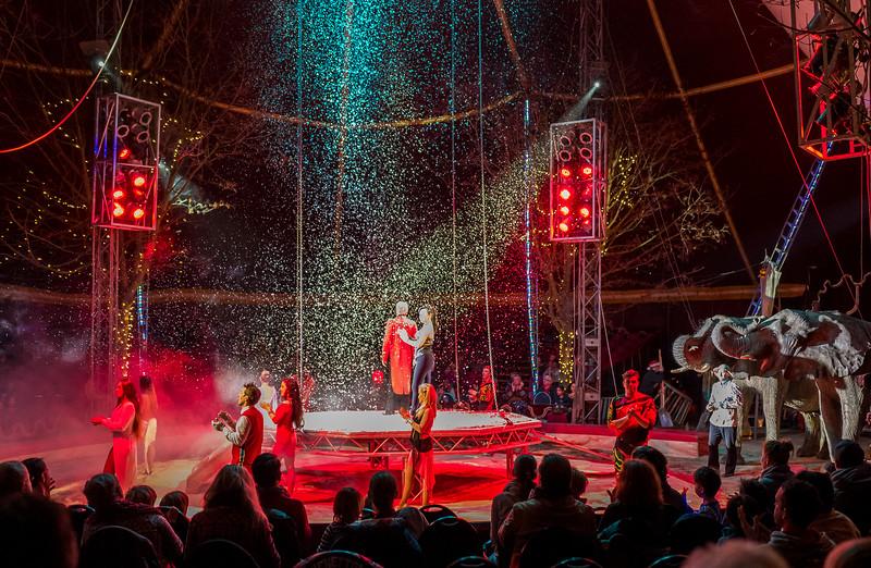 Christmas circus in Berlin