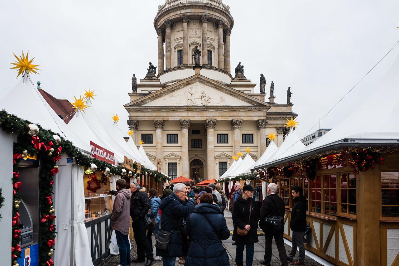 Christmas market on Gendarmenmarkt, Berlin