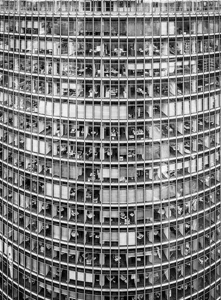 Deutsche Bahn tower at Potsdamer Platz, Berlin