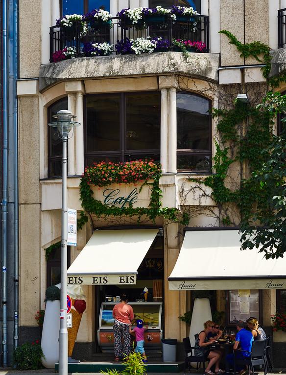 Ice crean store in Berlin