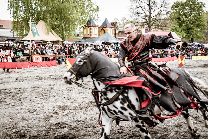 Knights tournament in Spandauer Zitadelle