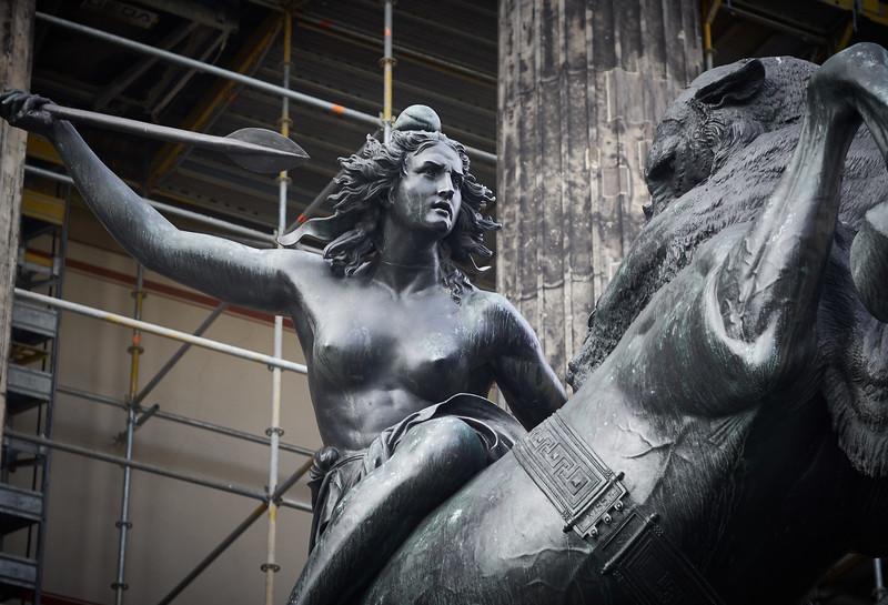 Statue in Berlin